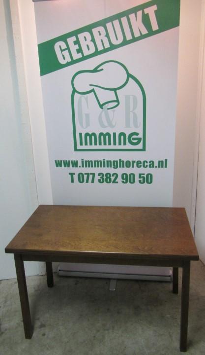 Houten tafel van 120 x70 cm