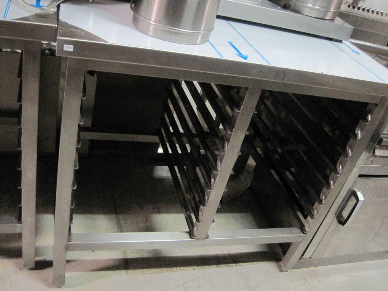 Werktafel RVS met geleiders
