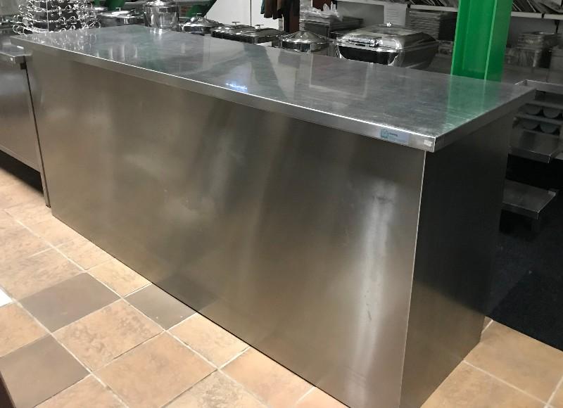 RVS-werktafel