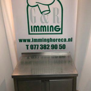 RVS-kast-werktafel